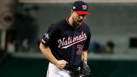 Nella foto Max Scherzer (AP PHOTO/ALEX BRANDON)