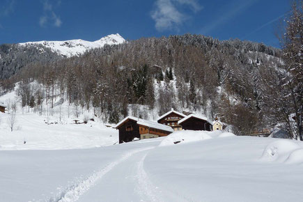 Der Sturm-Archehof in Heiligenblut im Winter