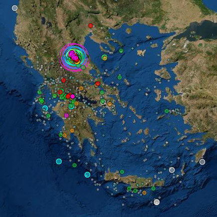 Erdbebenserie GR 20 Tage_http://www.geophysics.geol.uoa.gr/stations/maps/recent_eq_20d_el.htm