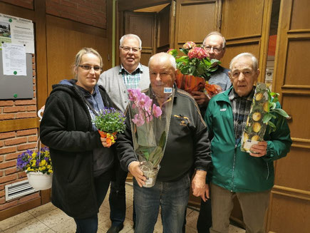 Die Gewinner der Blumenpreise