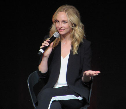 Candice King at Bloody Night Con Europe