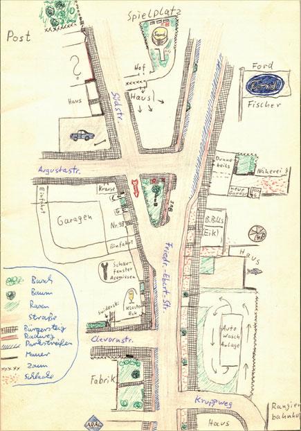 Unser Wohnviertel um 1968