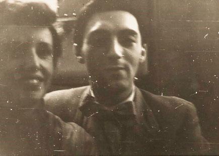 John Izbicki mit meiner Mutter
