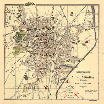 Stadtplan 1925