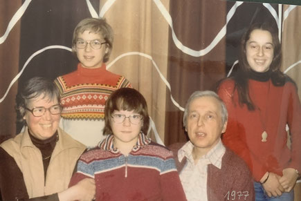 Familienbild um 1975