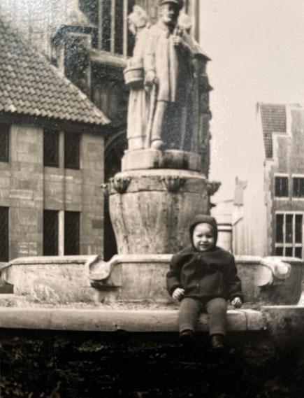 Markus am Lamberti-Brunnen