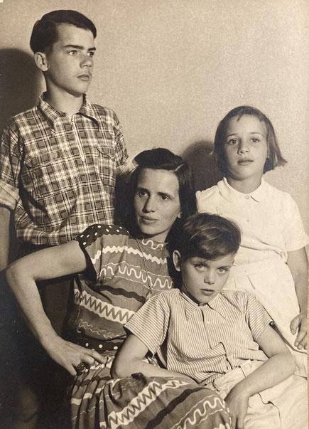 Die Mutter mit Kindern