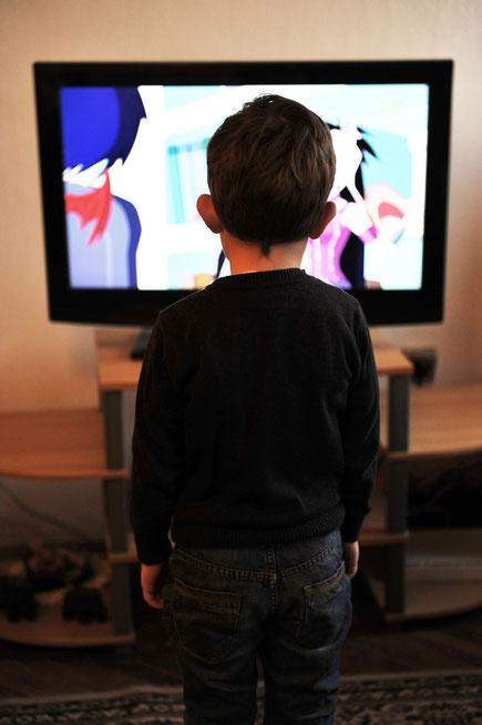 télévision enfance écran