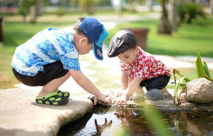 Kinderbetreuung Glückspilz Bad Liebenzell Gefühl und Mitgefühl durch positive soziale Beziehungen