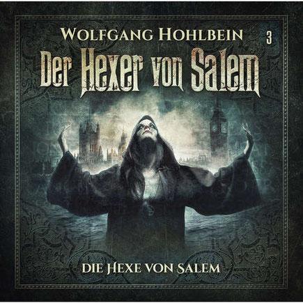 CD-Cover Der Hexers von Salem - Die Hexe von Salem