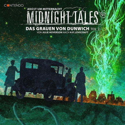 CD-Cover Midnight Tales - Folge 51