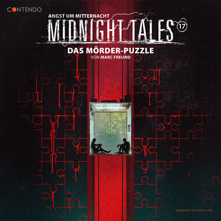 CD-Cover Midnight Tales - Folge 17 - Das Mörder-Puzzle
