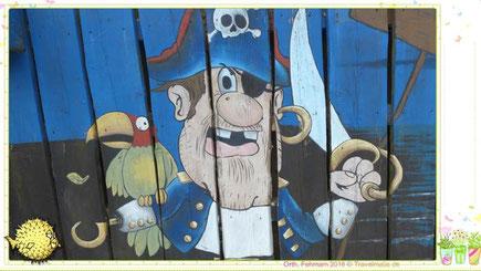 """Piratennest""- Restaurant in Orth."