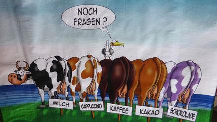 Kühe im hohen Norden Deutschlands und ihre Erzeugnisse :-)