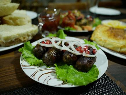 Georgian food, cupati, Georgian dishes