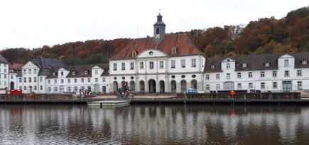 Am Hafen von Bad Karlshafen