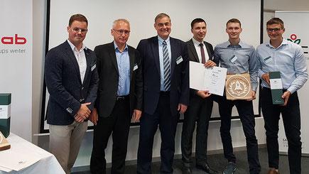 Preisverleihung des TUClab-Wettbewerbes 2019. Foto: Matthias Fejes