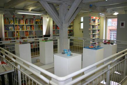 Austellung in der Stadtbücherei