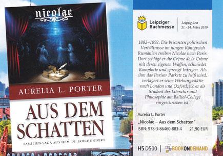 Die Nicolae-Saga: Aus dem Schatten - Band 6