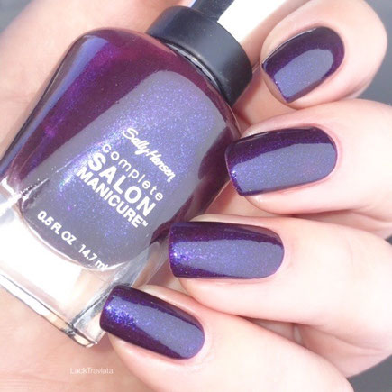Swatch Sally Hansen Rum-Pa-Pum-Plum