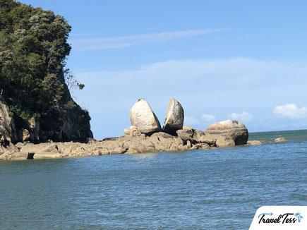 Split Apple Rock Nieuw-Zeeland