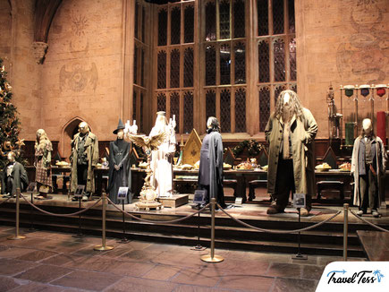 De Grote Zaal Harry Potter Studio's