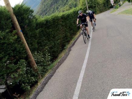 Fietsen rond Grenoble