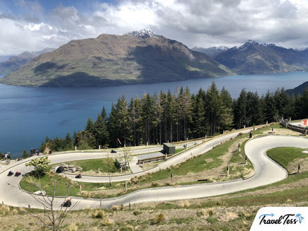 Luges rodelbaan Queenstown