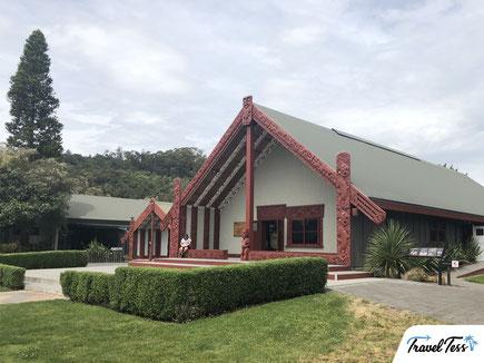 Maori huis in Te Puia