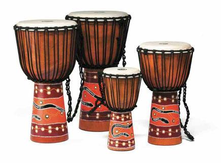 famille des percussions djembé africain