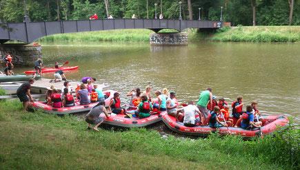 Marineking - Paddel Events, Bootsvermietung auf Mulde und Leipziger Gewässer