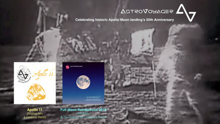 AstroVoyager Full Moon Rendezvous Apollo Celebration