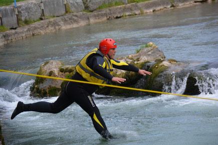 Tuffo di Soccorso - Corso Master Rescue Wild Water ® - fiume Brenta Veneto