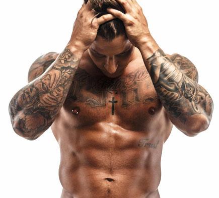 Tattoo Schmerzen überstehen