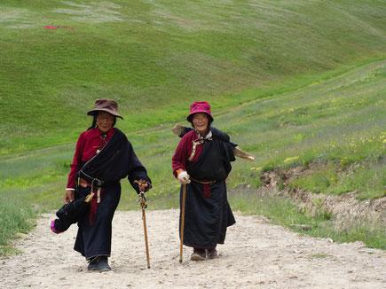 Gelebte Seelenhygiene in Tibet / copyright by Heinz Hackl