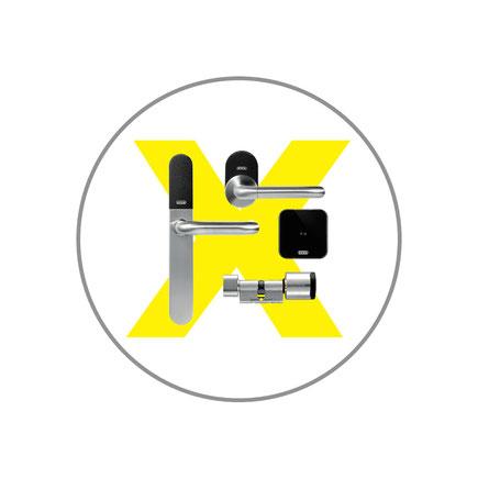 Evva Xesar Zutrittskontrolle, elektronischer Schließzylinder.
