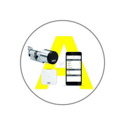 Evva Airkey Zutrittskontrolle, elektronischer Zylinder