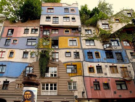 Hundertwasserhaus Wenen