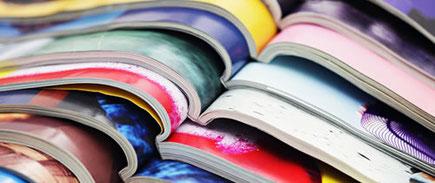 Kundenzeitungen und Magazine