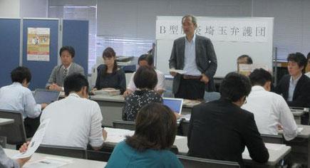 埼玉弁護団発足の記者会見のようす(7月21日)