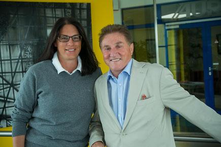 Geschäftsführerin Birgit Koisser und Bgm.a.D. Anton Bosch