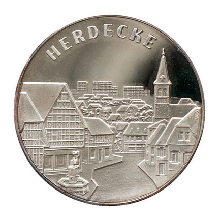 Herdecke Silbermedaille