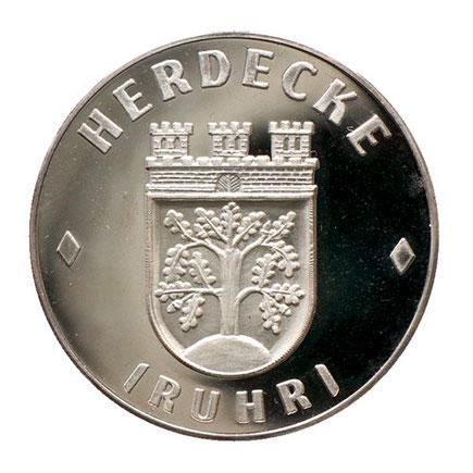 Herdecke Wappen Medaille