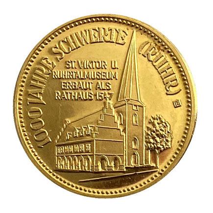 Münze Schwerte Rathaus