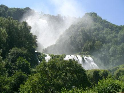 Cascate delle Marmore Cascata Umbria Italia Terni Valnerina