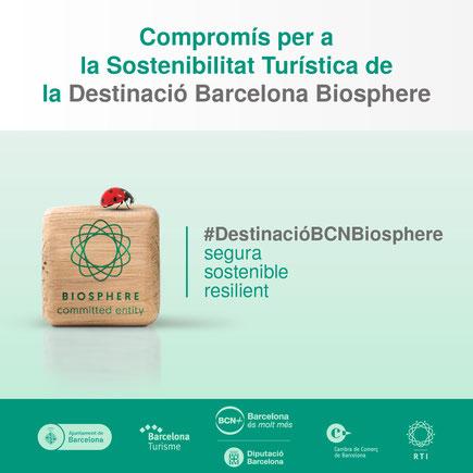 Compromiso Por la Sostenibilidad Turística de la Destinación BARCELONA Biosphere