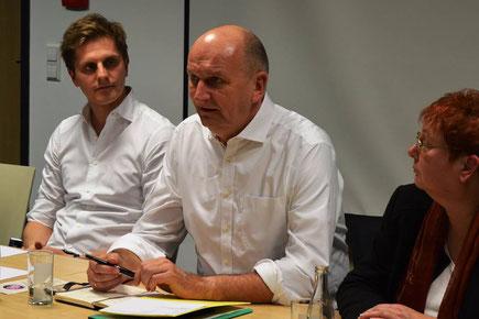 Benjamin Grimm, Dietmar Woidke, Andrea Suhr, SPD erneuern 2018
