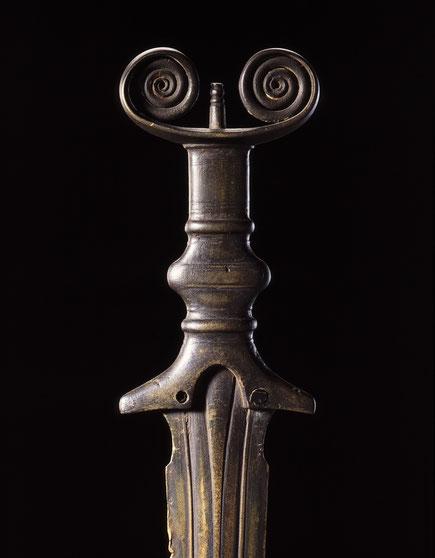 Bronzenes Vollgriffschwert 9. Jahrhundert vor Christus