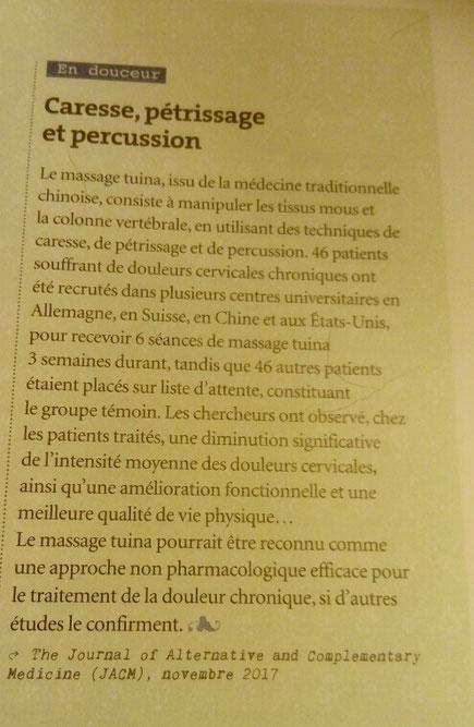 Sens et Santé magazine, mars 2018