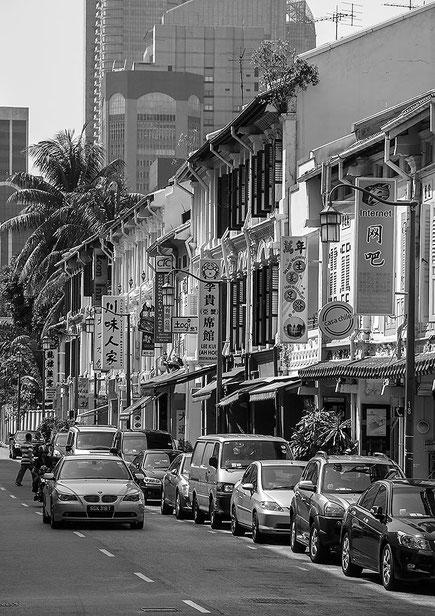 China Town, Singapore. Nikon D200. Nikkor 16-85 mm. Foto: Dr. Klaus Schoerner